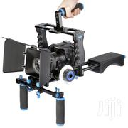 NEEWER D221 Shoulder Rig With Camera Cage and Follow Focus   Photo & Video Cameras for sale in Nairobi, Nairobi Central