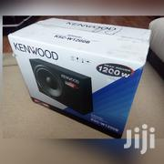 Kenwood Woofer 1200 Watts Deep Bass Woofer | Vehicle Parts & Accessories for sale in Nairobi, Nairobi Central
