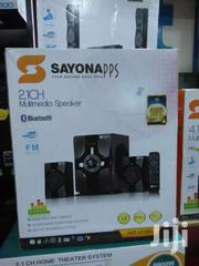 Sayona 2.1 With Bluetooth FM USB | TV & DVD Equipment for sale in Nairobi, Nairobi Central
