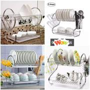 2 Tire Stainless Dish Rack | Kitchen & Dining for sale in Nairobi, Nairobi Central