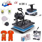 8 In 1 Heat Press Sublimation T-shirt Printing Machine | Printing Equipment for sale in Nairobi, Nairobi Central