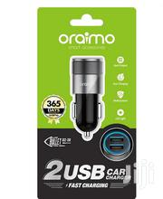 Oraimo Car Charger-occ-71d Dual USB   Accessories for Mobile Phones & Tablets for sale in Nairobi, Nairobi Central