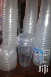 Disposable Plastic Glasses For Juices & Coffee With Lids. | Kitchen & Dining for sale in Nairobi, Embakasi