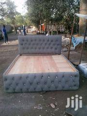 Stylish Tufted Quality 5by6 Bed | Furniture for sale in Nairobi, Ngara