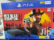 Ps4 Sony Slim With Red Dead Redemption 2 | Video Game Consoles for sale in Nairobi, Nairobi Central