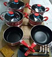 13pcs Red Non Stick Cooking Pots | Kitchen & Dining for sale in Nairobi, Nairobi Central
