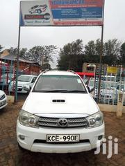 Toyota Fortuner 2008 White | Cars for sale in Kiambu, Township E