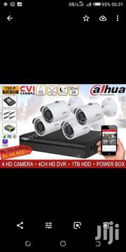 4 Dahua Metalic Cctv Cameras With Night Vision Complete Set | Security & Surveillance for sale in Nairobi, Nairobi Central