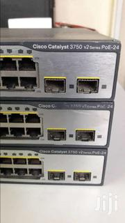 Cisco Switch 3750 V2 Series Poe-24 | Computer Accessories  for sale in Nairobi, Nairobi Central