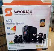 Brand New Sayona 4.1 Sound System Speakers   Audio & Music Equipment for sale in Nairobi, Nairobi Central