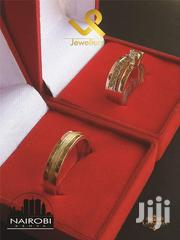 Custom Made 14k Gold N Silver Fusion Couples Wedding Ring Bands | Jewelry for sale in Nairobi, Nairobi Central