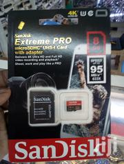 Sandisk 8GB Extreme Pro Class 10 Memory Card | Accessories for Mobile Phones & Tablets for sale in Nairobi, Nairobi Central