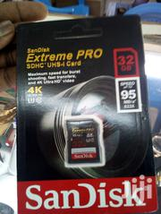 Sandisk 32GB Extreme Pro Memory Card | Accessories for Mobile Phones & Tablets for sale in Nairobi, Nairobi Central