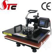 Heat Press Machine For Hat Mug Plate 5 In 1 Black | Printing Equipment for sale in Nairobi, Nairobi Central