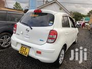 Nissan March 2012 White   Cars for sale in Nairobi, Makina
