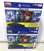 Sony Playstation 4 Slim Mega Pack Gaming Console 500GB(Black) | Video Game Consoles for sale in Nairobi, Nairobi Central