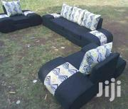Stylish Modern Quality D-Shaped 5 Seater Sofa | Furniture for sale in Nairobi, Ngara