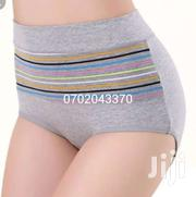Beautiful Stripped Cotton Highwaist Tummy Control Panties | Clothing for sale in Nairobi, Kasarani