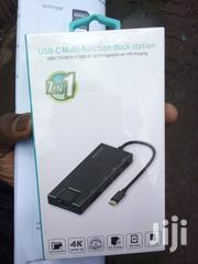 USB C Hub, 7-in-1 Ethernet Port, SD/TF Card Reader, HDMI, 2 USB   Computer Accessories  for sale in Nairobi, Nairobi Central