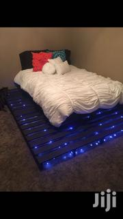 Glowing Pallet Bed   Furniture for sale in Nairobi, Nairobi Central