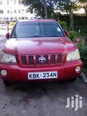 Toyota Kluger 2003 Red | Cars for sale in Mombasa, Tudor