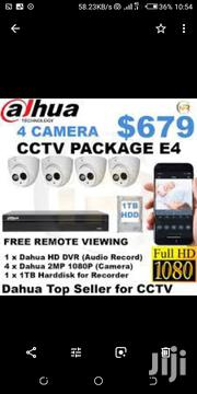 4 Cctv Dahua Cameras With Night Vision 1080p HD | Security & Surveillance for sale in Nairobi, Nairobi Central