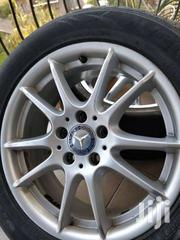 Original 17 Mercedes Benz Alloy Rims With New Hankook Tires Ksh 95K | Vehicle Parts & Accessories for sale in Nairobi, Nairobi Central