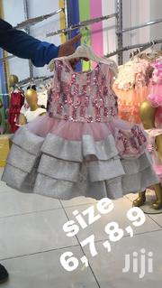 Classic Purple Dress With Cute Bag On The Side | Children's Clothing for sale in Mombasa, Majengo