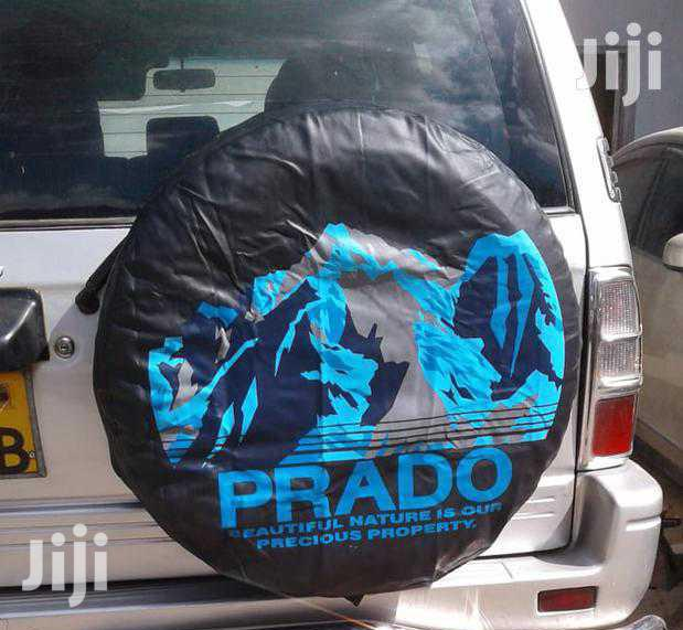 Prado Branded Spare Wheel Cover, Free Delivery Within Town.