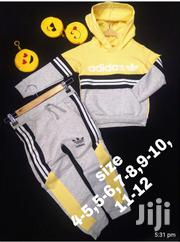 Yellow Adidas Track | Children's Clothing for sale in Mombasa, Majengo
