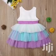 Purple And White Dress | Children's Clothing for sale in Mombasa, Shimanzi/Ganjoni