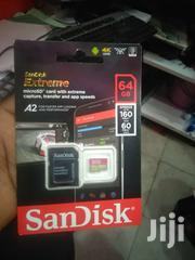 Sandisk Extreme 64GB Microsd, Microsdhc | Accessories for Mobile Phones & Tablets for sale in Nairobi, Nairobi Central