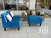 Chester Sofa Plus Poof Made On Order   Furniture for sale in Nairobi, Ngara