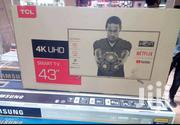 TCL 43inch Smart Android 4k UHD With Warranty | TV & DVD Equipment for sale in Nairobi, Nairobi Central