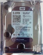 Brand New Sealed 3TB WD Purple Surveillance Desktop Sata Hard Disk | Computer Hardware for sale in Nairobi, Nairobi Central