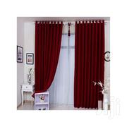 3m Curtain and 1.5m Sheer -Maroon | Home Accessories for sale in Nairobi, Embakasi