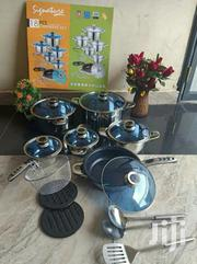 Signature 18pcs Cookware Stainless Steel Induction | Kitchen & Dining for sale in Nairobi, Nairobi Central