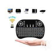 Mini 2.4G Mini Wireless Keyboard With Backlit Multi-touch Touchpad | Musical Instruments for sale in Nairobi, Nairobi Central