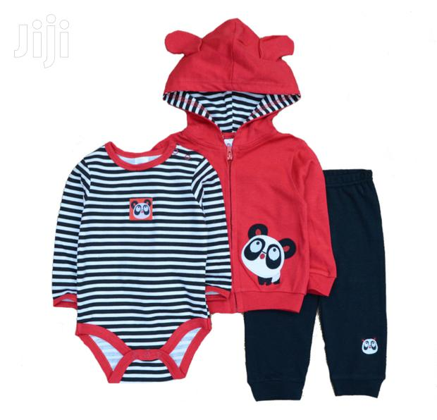 Archive: Warm 3 Piece Hooded Baby Boy Sets.