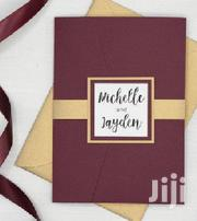 Custom Made Wedding Cards | Wedding Venues & Services for sale in Kisumu, Kobura