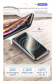 Usams Pb27wireless Charging Powerbank 10000MAH Fast Charging Powerbank | Accessories for Mobile Phones & Tablets for sale in Nairobi, Nairobi Central