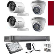 4 Cctv Cameras Complete System Package Sales | Security & Surveillance for sale in Nairobi, Nairobi Central