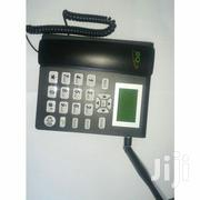 SQ Gsm Phone for Office and Home With Dual SIM Slot FM Radio-Black | Home Appliances for sale in Nairobi, Nairobi Central