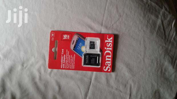 Archive: Brand New Sandisk 16 GB Memory Card