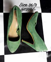 Green Suede Heels | Shoes for sale in Nairobi, Nairobi Central