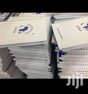 Customized Quality Notebooks Printing Free Delivery   Other Services for sale in Nairobi, Nairobi Central