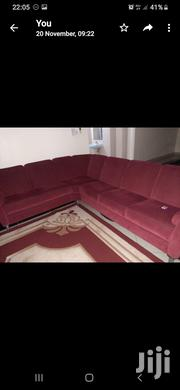 L Shape Sofa With Inbuilt Drawer for Sale | Furniture for sale in Mombasa, Bamburi