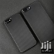 iPhone 5 6 7 Carbon Fibre Black Hard Tpu Case | Accessories for Mobile Phones & Tablets for sale in Mombasa, Mji Wa Kale/Makadara
