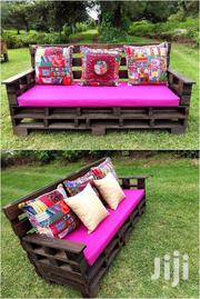 Stylish Unique Modern Quality 3 Seater Pallet Sofa | Furniture for sale in Nairobi, Ngara