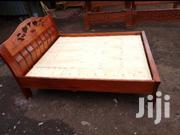 Mahogany Wood Bed 5*6 Feets | Furniture for sale in Nairobi, Nairobi Central